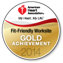 Fit-Friendly Worksite Gold Achievement 2014