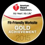 Fit Friendly Gold Achivement 2015