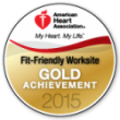 Fit Friendly Gold Achievement 2015
